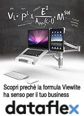 Staffe Viewlite - Imbattibili per flessibilità